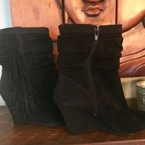 I.N.C. Everlee Suede Booties